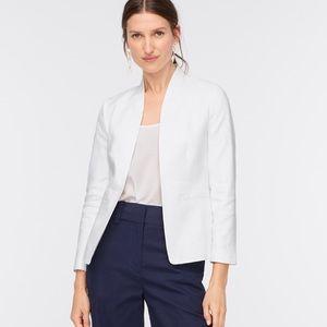 Jcrew stretch linen blazer Size 00 NWT